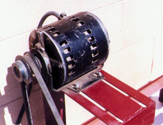 Ball mill rack motor 2