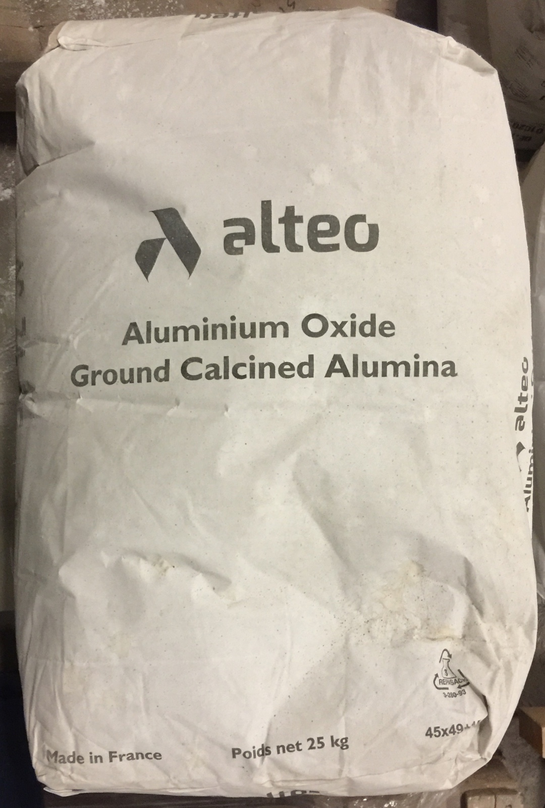 Original Container Bag of Calcined Alumina