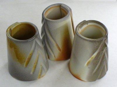 Plainsman P580, P600, H570 soda fired samples