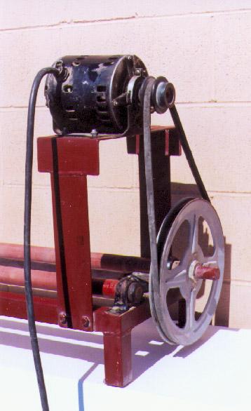 Ball mill rack motor 1