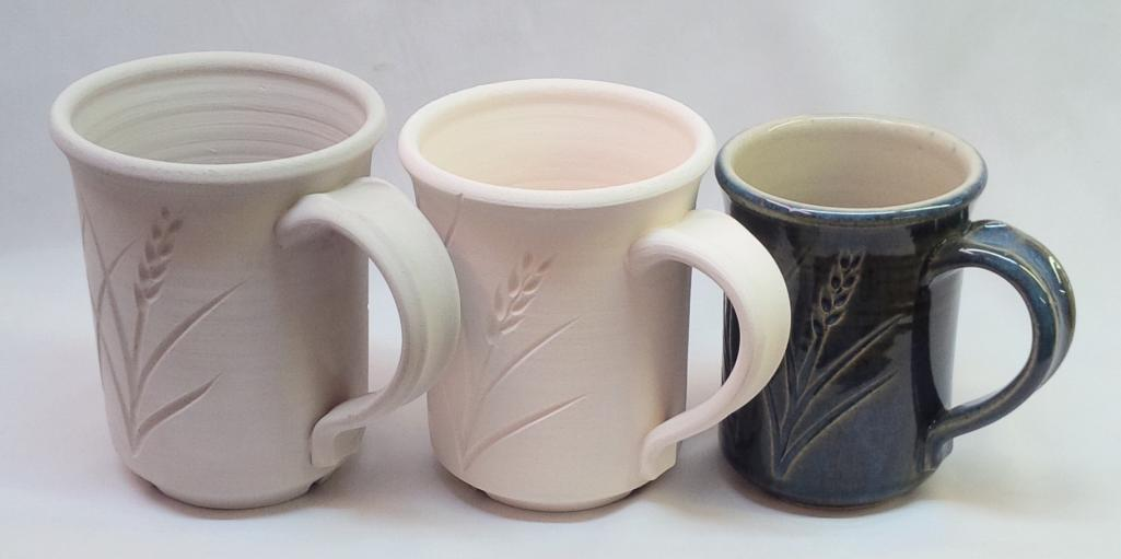 How much does the size of a piece change when it is bisque fired? Glaze fired?