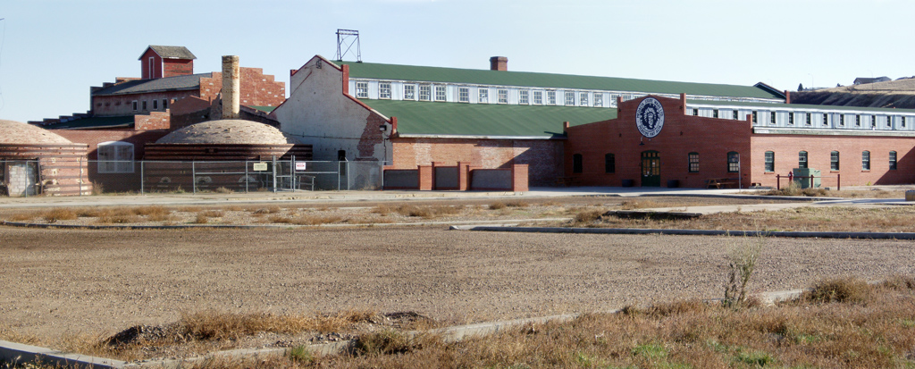 Picture of the Medalta factories today, restored
