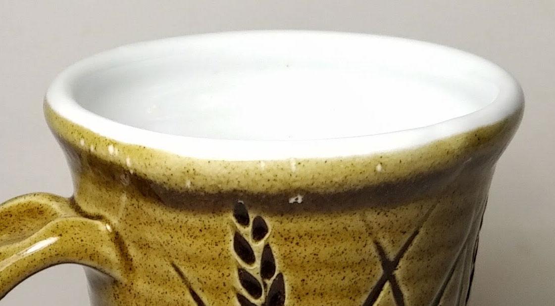 Mistake when liner glazing a mug