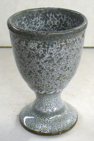 Double layering of glazes often produces variegation