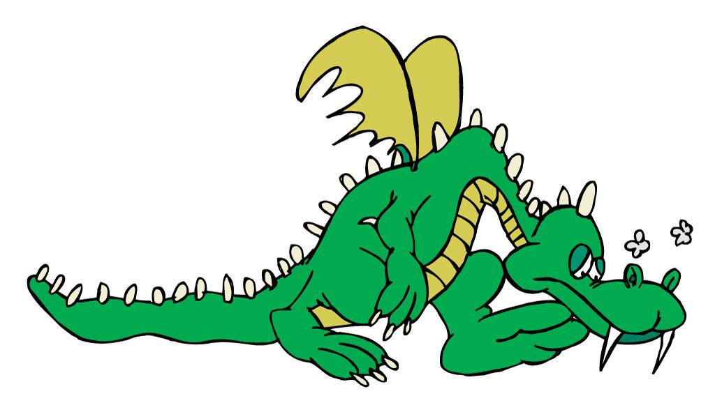 Dejected dragon
