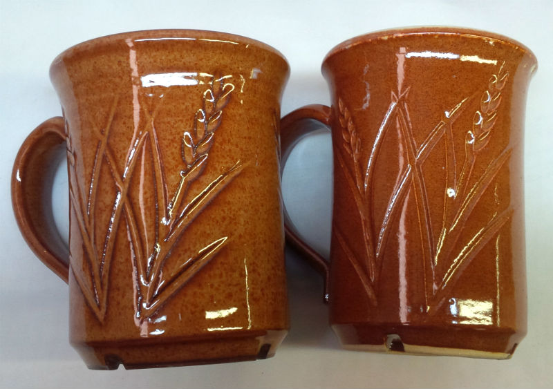 Some glazes look great on red clay and horrible on white