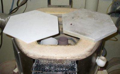Making your own hexagonal shelves from alumina