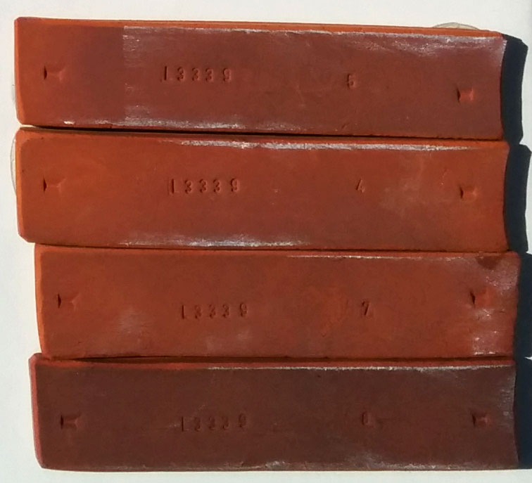 Carbondale Red fired clay bars
