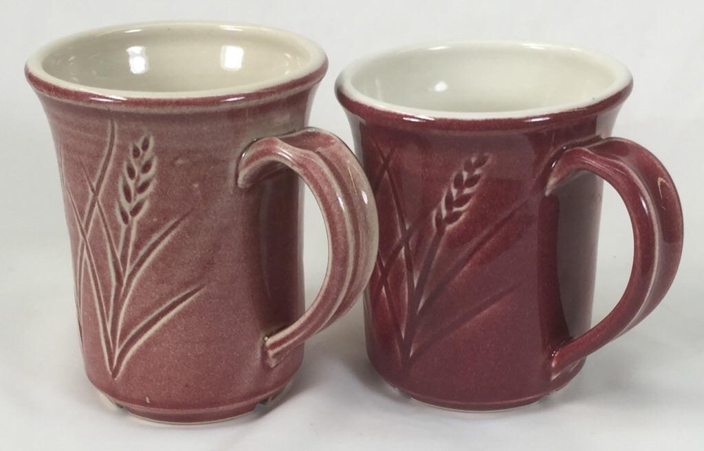A once-fire mug vs. a bisque-fired mug