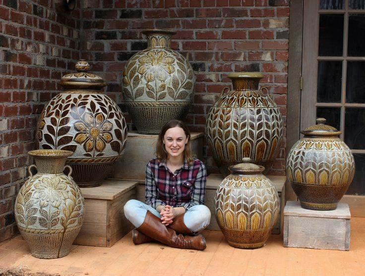 Large vessels, big pots of Kate Johnston