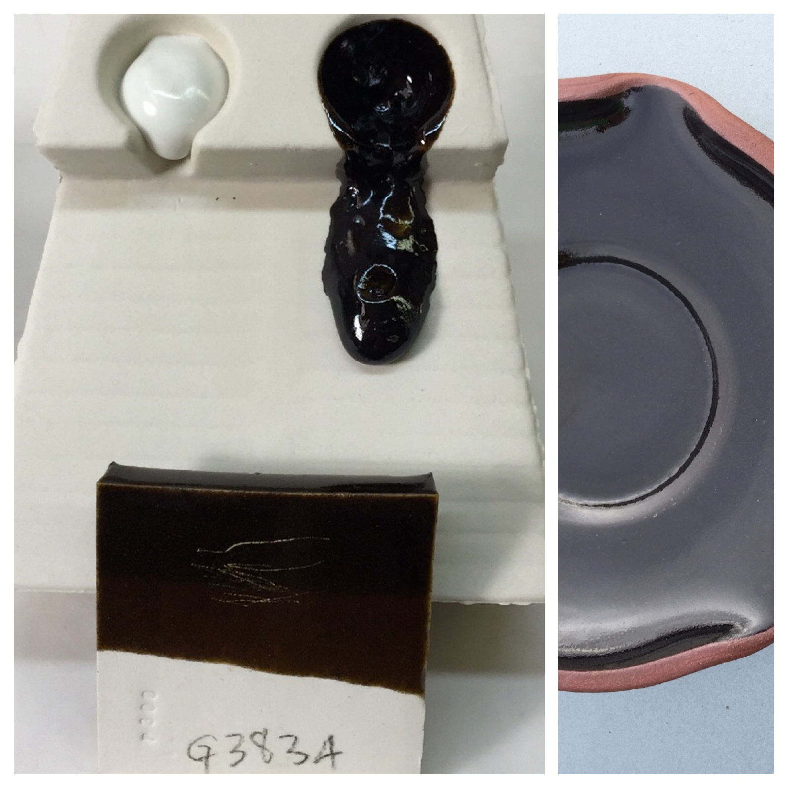 Can a cone 6 functional glaze having only whiting and feldspar melt enough?