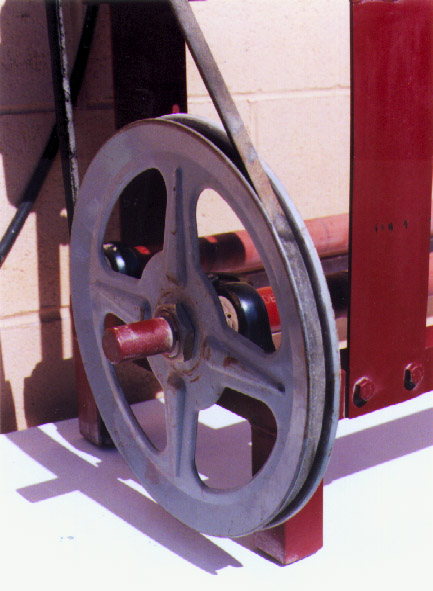 Ball mill rack pulleys and rollers picture 1