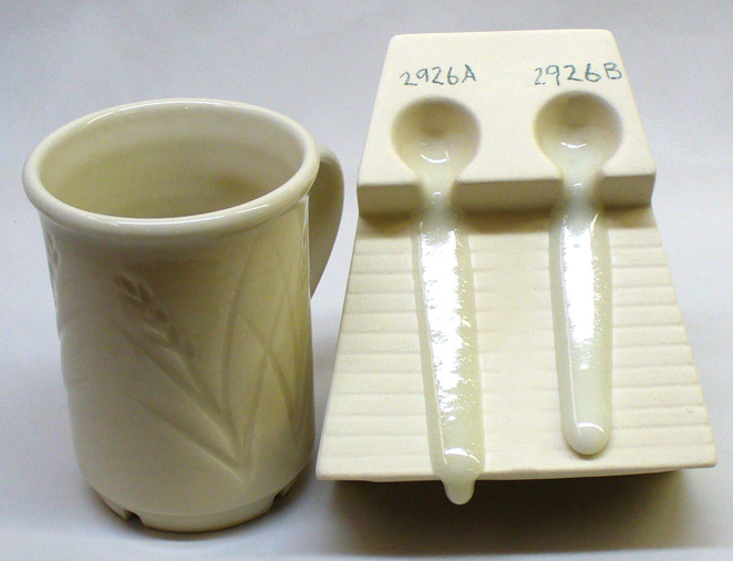 An example where adding silica really helps a glaze