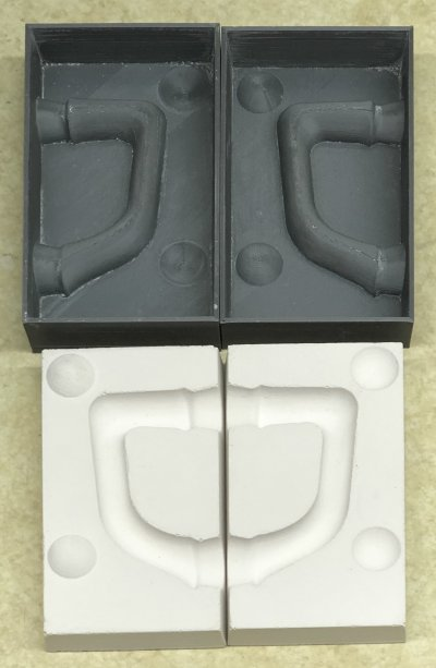 The incredible utility of 3D printing master handle molds