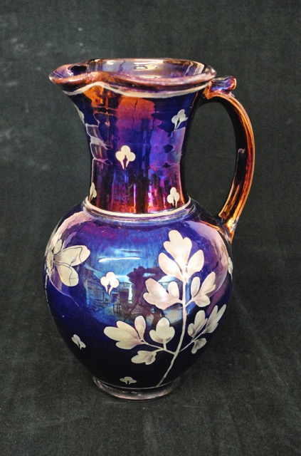 Lustreware pitcher by Jonathan Chiswell Jones