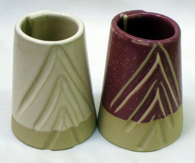 Ravenscrag Cone 6 GR6-C white and with 10% Mason 6006 stain