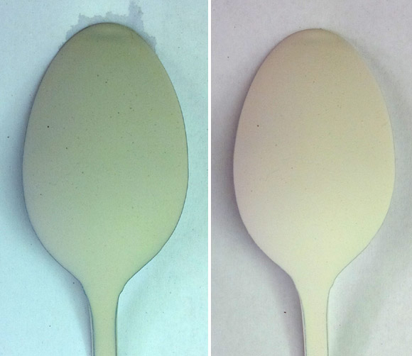 Would it be possible to glaze a stainless steel spoon?