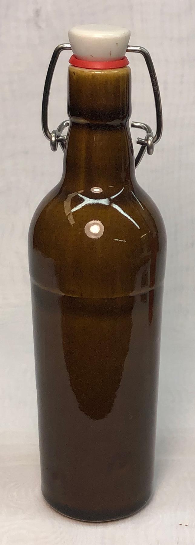 First cast beer bottle
