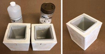 Over deflocculated vs. under deflocculated ceramic slurry