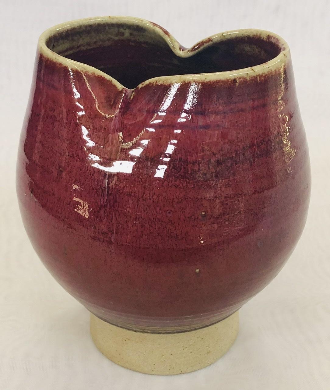 Lindoe copper red bowl