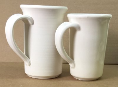 How much does a porcelain piece shrink on firing?