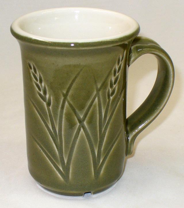 Ravenscrag slip cone 6 celadon on a New Zealand kaolin porcelain