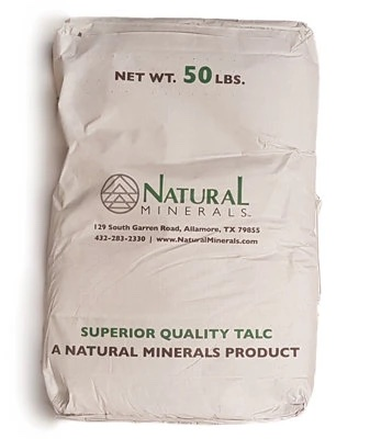Natural Minerals C-98 Talc bag