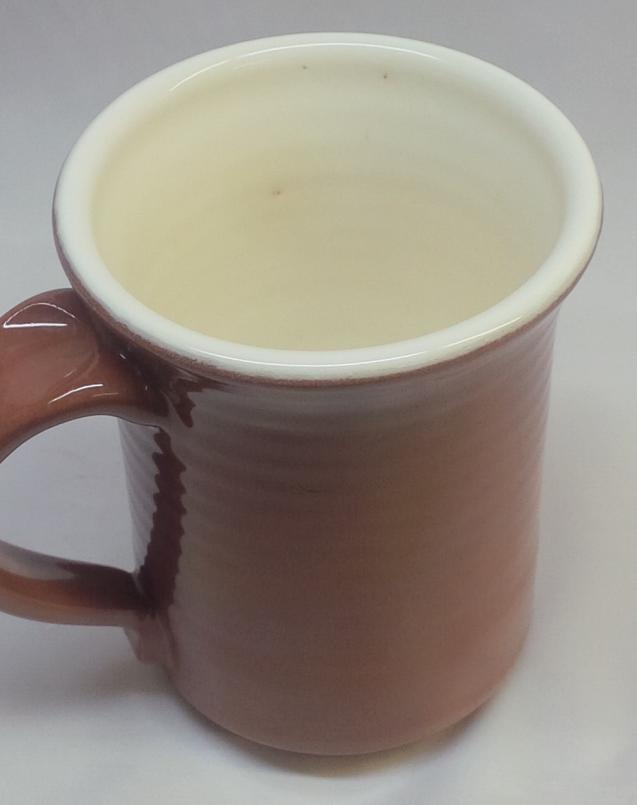 One small pinhole in a terra cotta mug and we have a problem