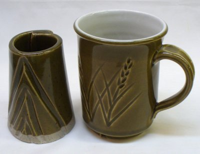 Ravenscrag GR10-E celadon glaze