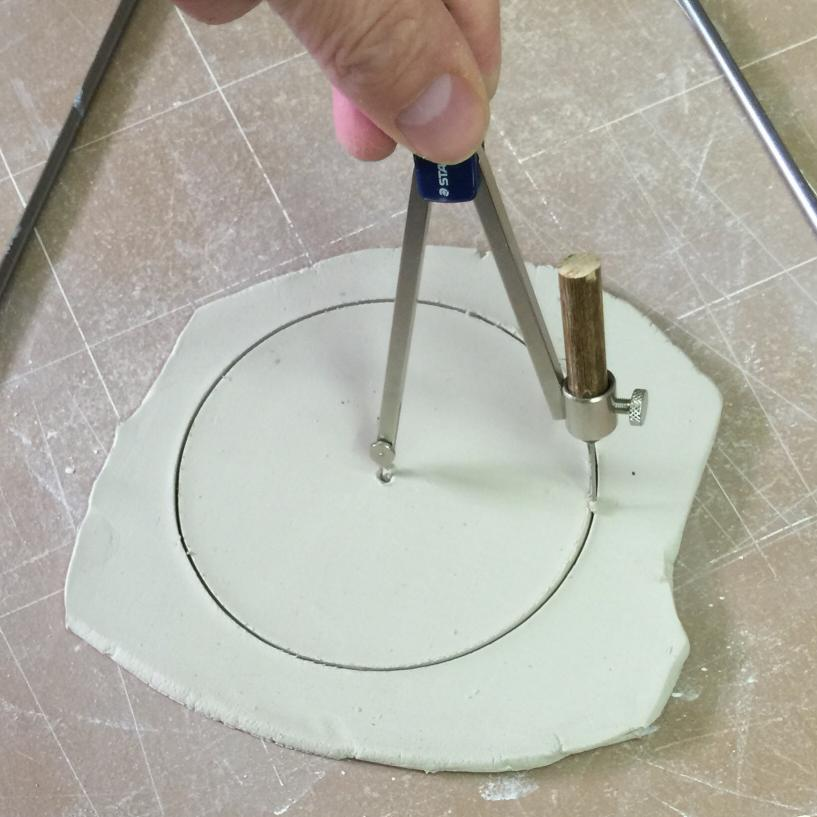 Cutting the disk for a DFAC drying factor test