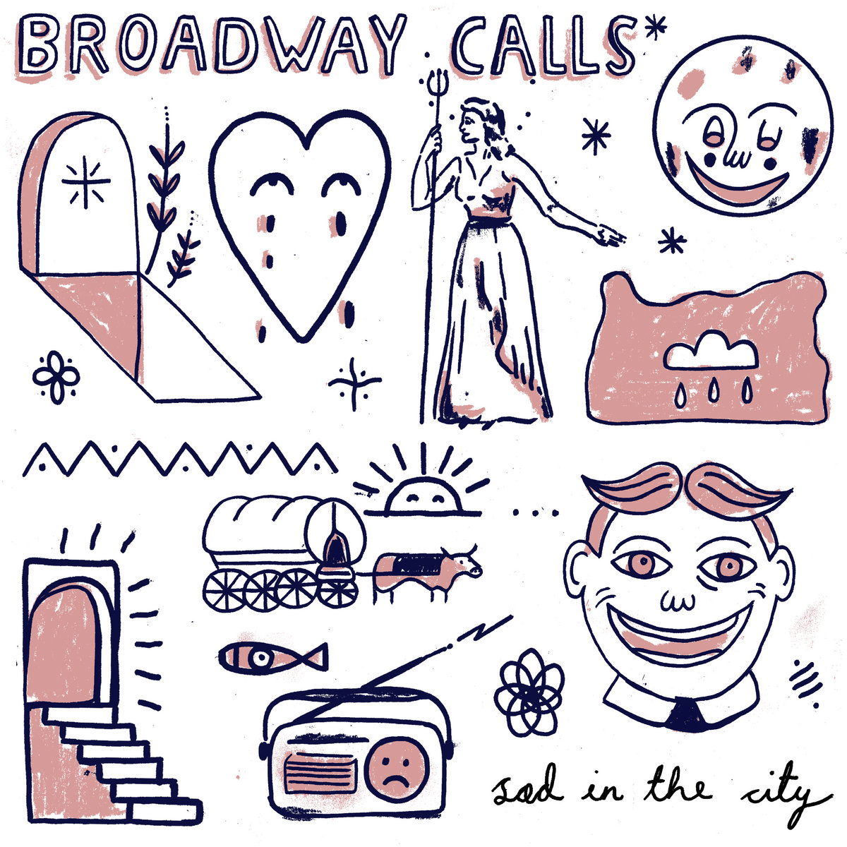 Sad In The City album art