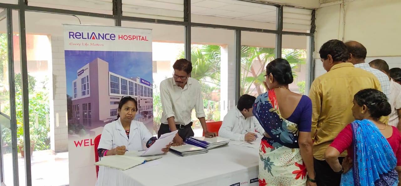 Medical Camp at ONGC, Panvel