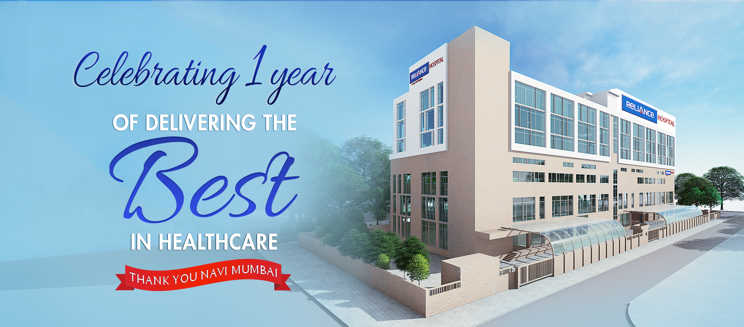 Celebrating One Year of the best healthcare in Navi Mumbai