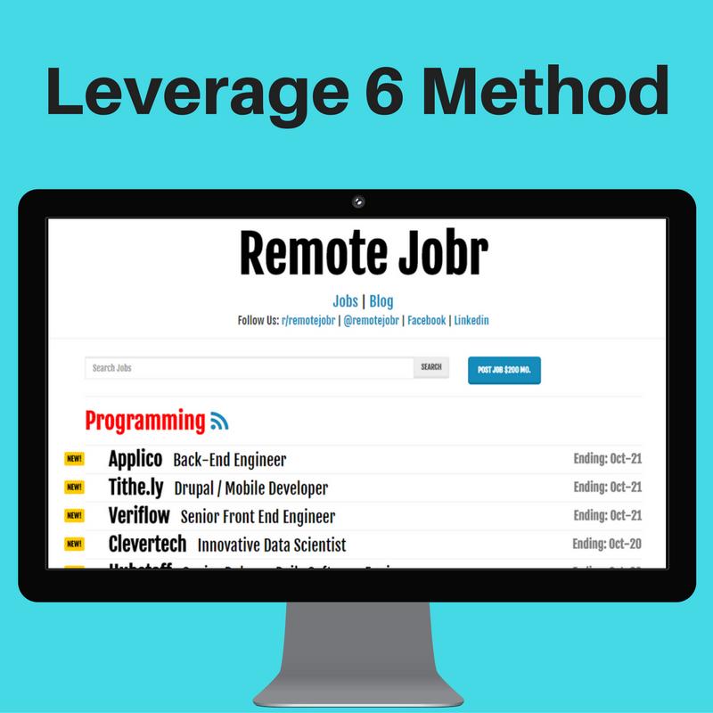 Leverage 6 Method
