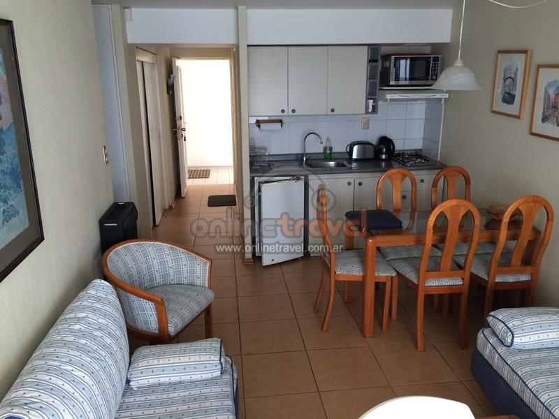 Departamento 2 habitaciones 6 personas re aca a100 Departamento 3 habitaciones