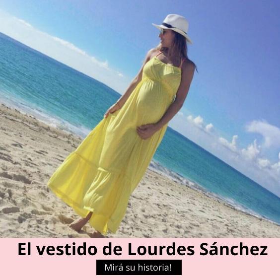 El vestido de Lourdes Sánchez thumbnail