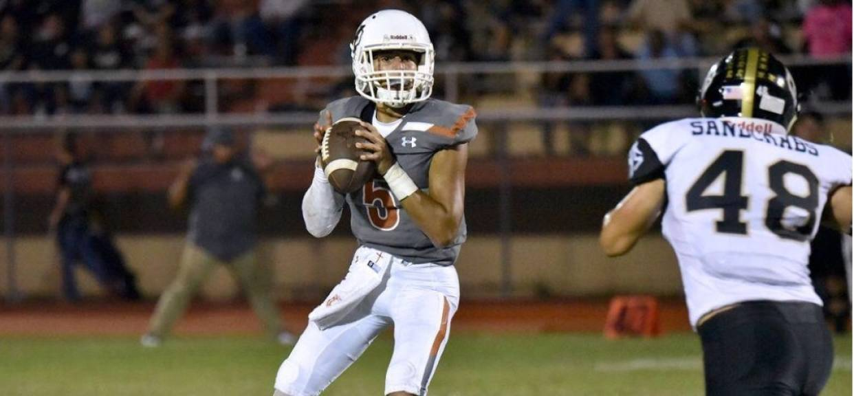 Aguilar running for Mr. Texas Football Player of The Week