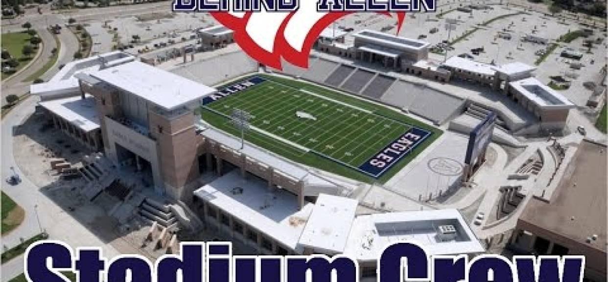 Eagle Stadium Broadcasting Crew - Allen Eagle Football