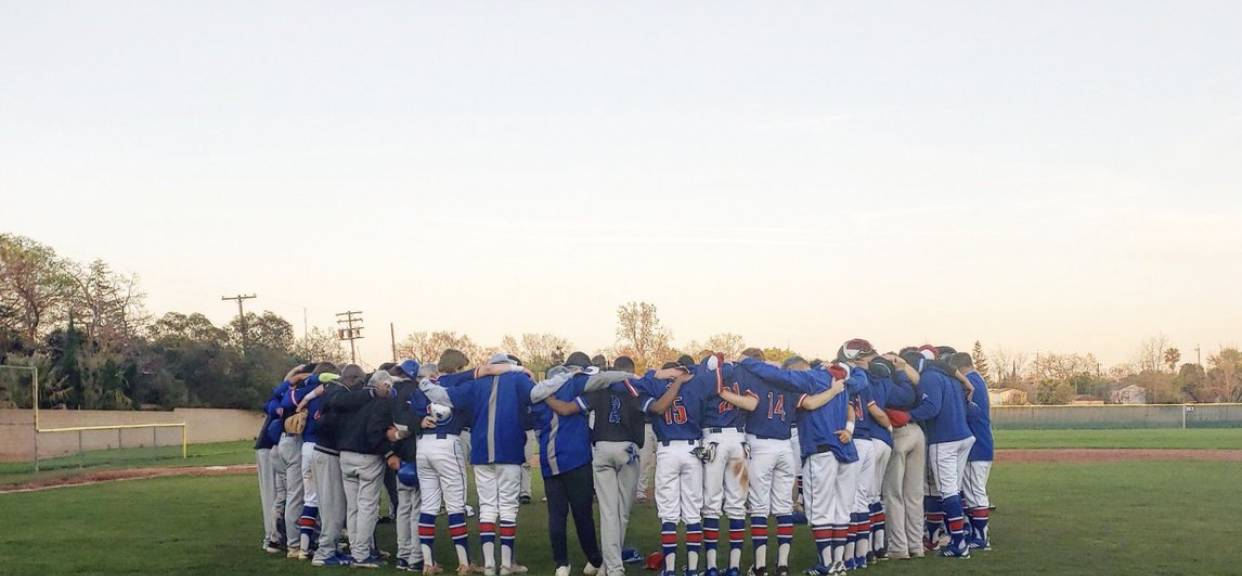 Prayer after the Baseball Game