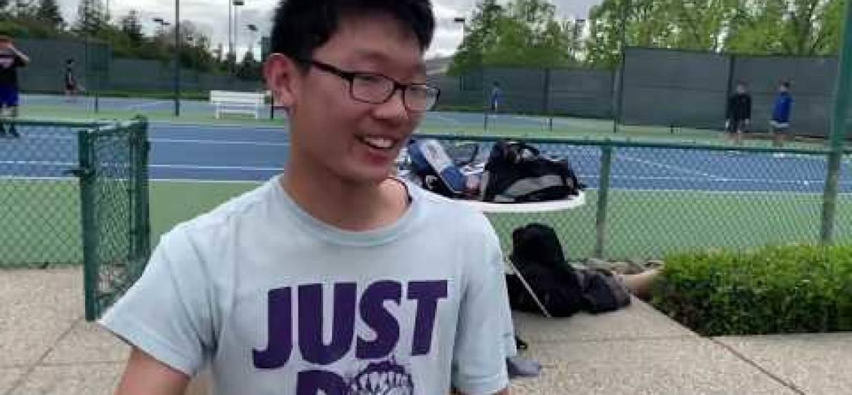 CB Tennis Ace and Team Captain Chris Fong