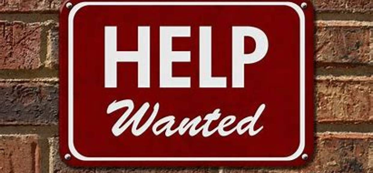 Help Wanted 4/10/19