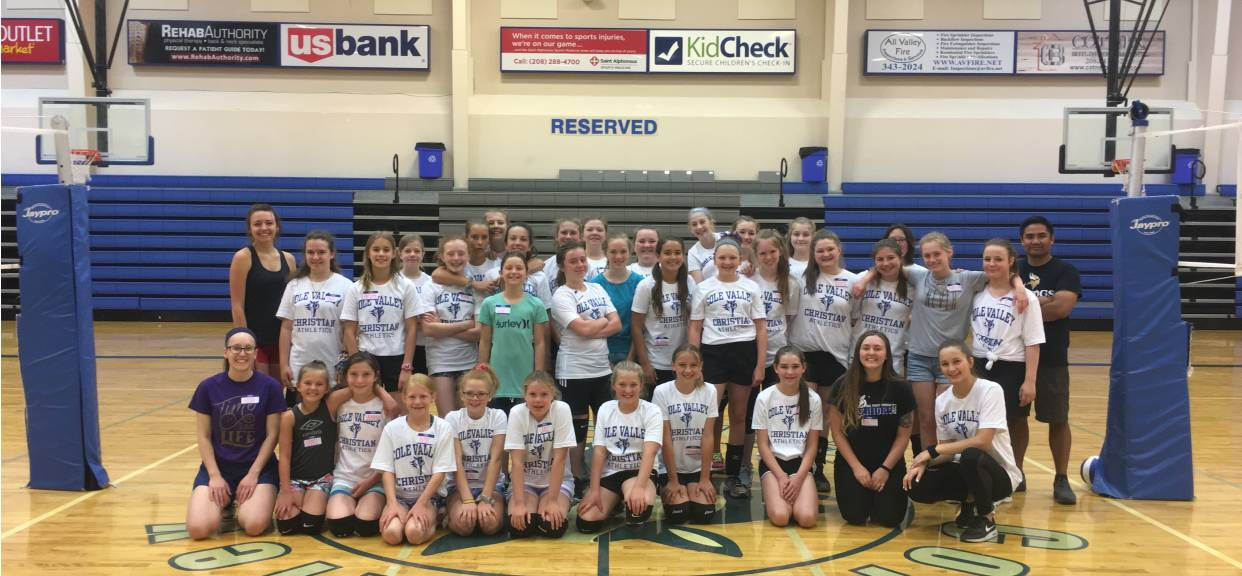 Volleyball Camp News