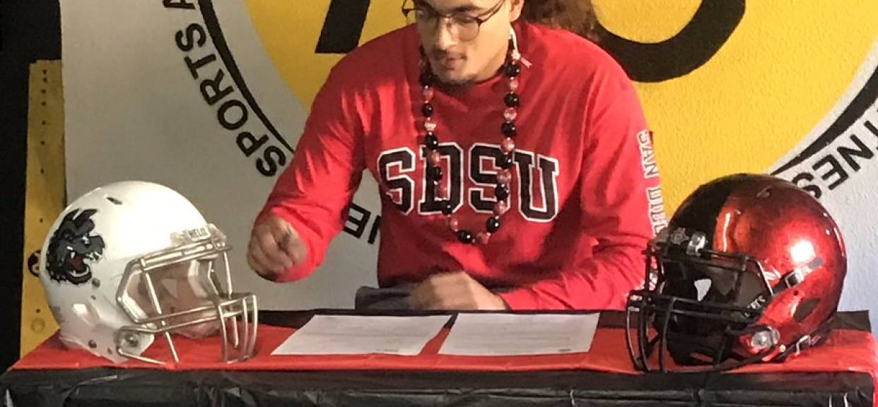 Shawcroft Signs With SDSU