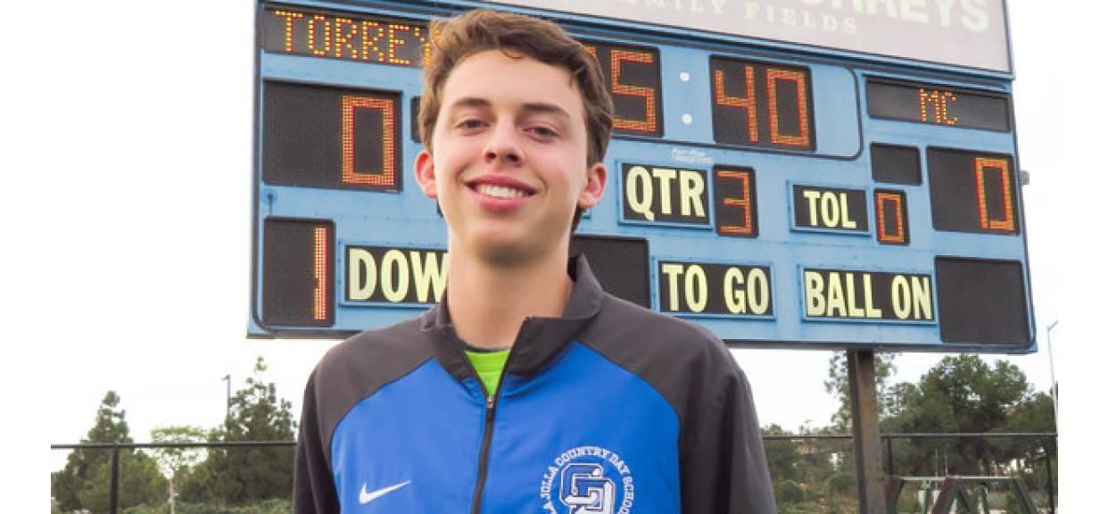 Torreys Goalkeeper Featured in sdnews.com