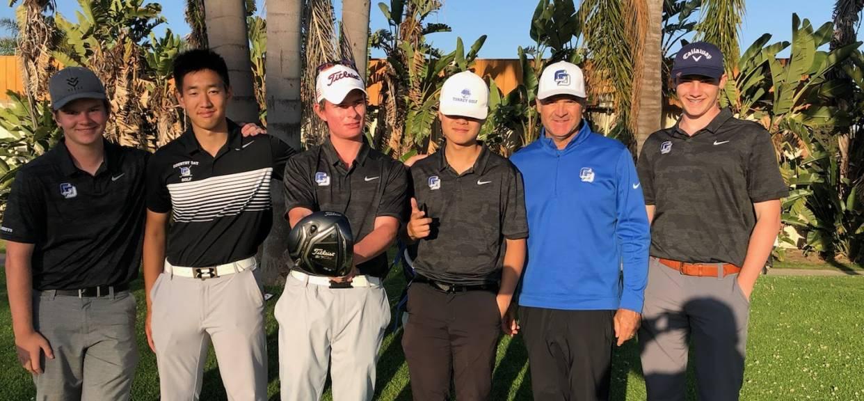 Team Golf Clinches Coastal League Championship