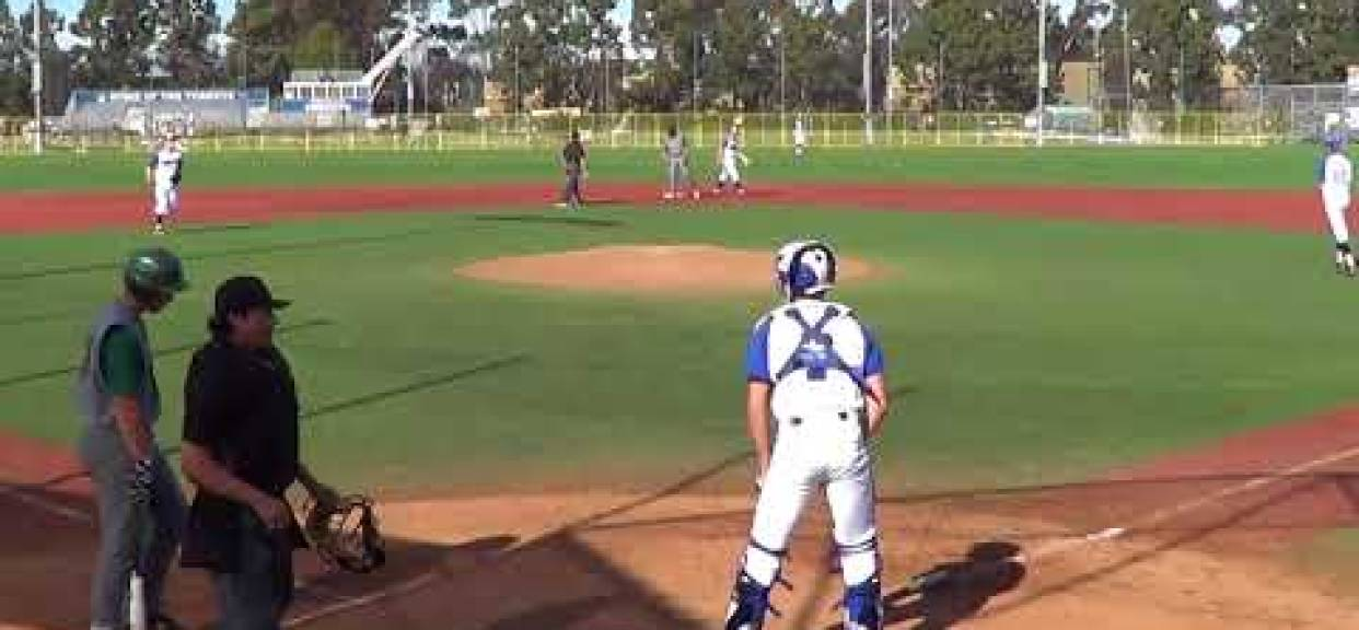 LJCDS Baseball vs Poway  March 19, 2018