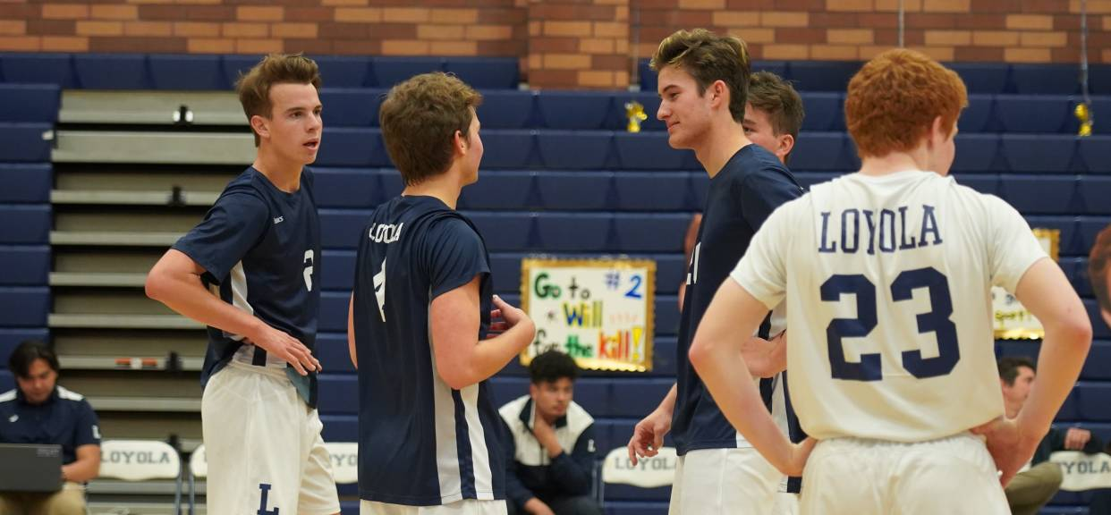Loyola Closes Out Chaminade, Sweeping 3-0