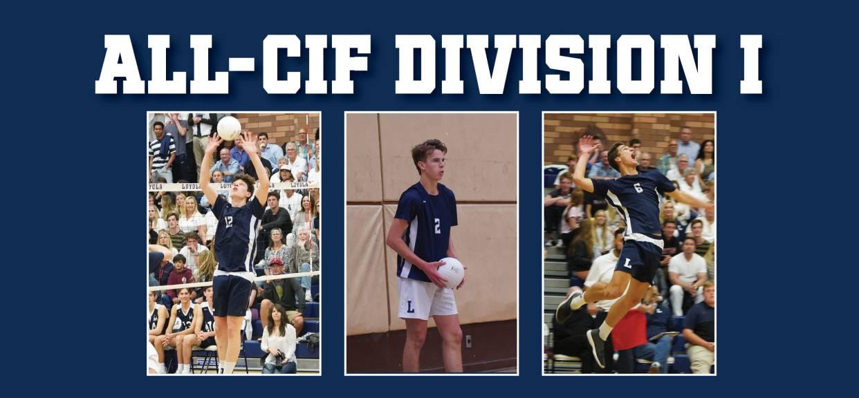 Will Campbell '19, Luke Turner '20, Henry Wedbush '20 Earn All-CIF Honors