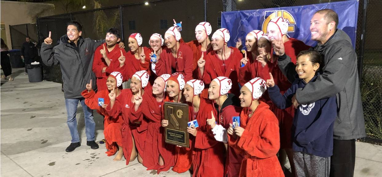 Girls Water Polo Wins CIF State Title