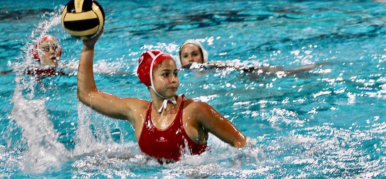 Hannah Palmer Named Trinity League Water Polo MVP